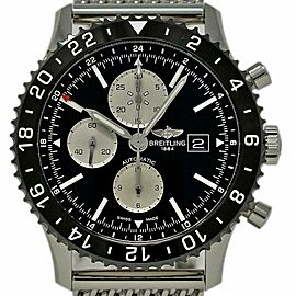 Breitling Chronoliner 46mm Y2431012/BE10 Steel Black