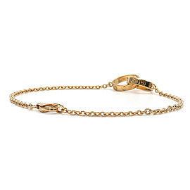 Authentic Cartier Baby Love Bracelet K18YG 750 Yellow Gold Used F/S