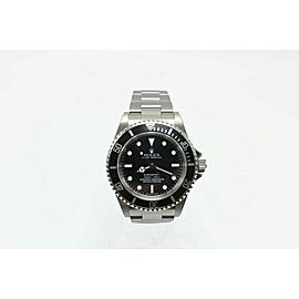 BRAND NEW Rolex Submariner 14060 Black Dial Stainless Box Papers Stickers BNOS