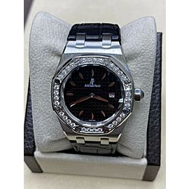 Audemars Piguet Royal Oak Stainless 67651ST.ZZ.1261ST.01 Original Diamond Bezel