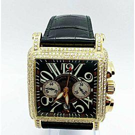 Franck Muller 10000 K CC Diamond Conquistador King Cortez 18K Rose Gold