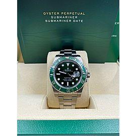 Rolex Submariner 116610 Green HULK Stainless Steel Box Booklet 2014