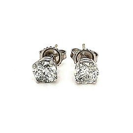 Salt & Pepper 2.07 Carat Diamond Stud Earrings