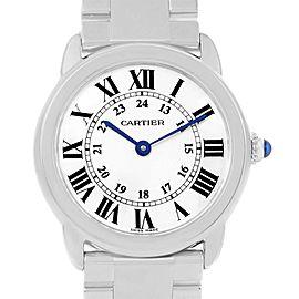 Cartier Ronde Solo W6701004 Womens 29mm Watch