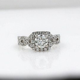 Neil Lane Diamond Engagement Ring 1.46 tcw 14k White Gold $12,000 Retail