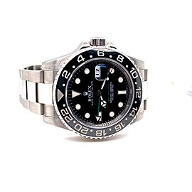 Rolex GMT Master II 116710LN Black Ceramic Stainless Steel Box Papers 2010