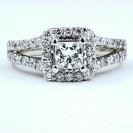 Helzberg Diamonds Diamond Engagement Ring 1.00 tcw 18k White Gold $4,299 Retail