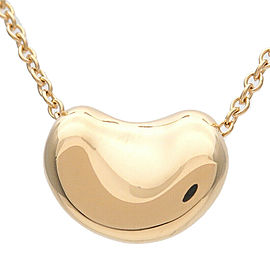Tiffany & Co. Elsa Peretti Mini Beans Yellow Gold Necklace