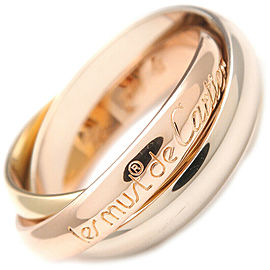 Cartier Trinity Tri-Tone Gold Ring