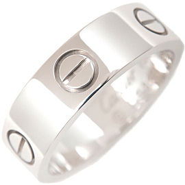 Cartier Love Ring 18K White Gold