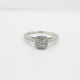 Vera Wang Love Diamond Engagement Ring 3/4 tcw in 14k White Gold