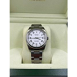 BRAND NEW Rolex 114200 Air King White Dial Stainless Steel Box Papers