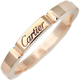 Authentic Cartier Maillon Panthère Ring Rose Gold #56 US7.5-8