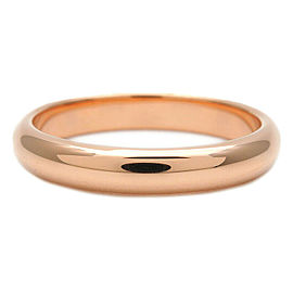 Authentic Cartier Wedding Ring K18 750 Rose Gold #56 US7.5-8 HK17 EU56 Used F/S