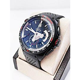 Tag Heuer CAV5185 Grand Carrera Chronometer Titanium Automatic Box Papers