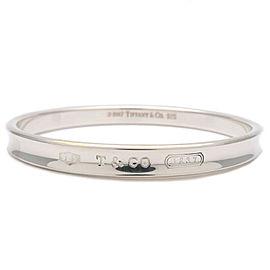 Authentic Tiffany&Co. 1837 Narrow Bangle Bracelet