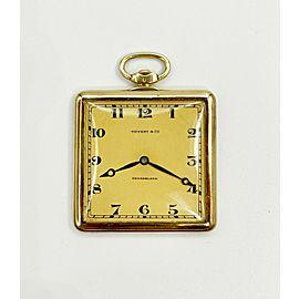 Tiffany & Co. Pocket Watch 18K Yellow Gold