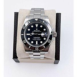 Rolex Submariner 116610 Black Ceramic Submariner Stainless Steel Box Paper 2017