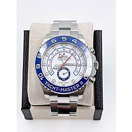 BRAND NEW Rolex 116680 Yacht Master II Blue Ceramic Stainless Box Paper 2021