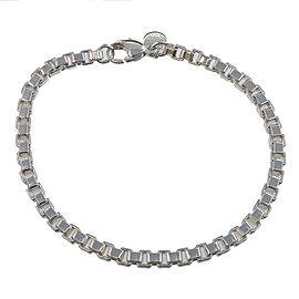 Authentic Tiffany&Co. Venetian Link Bracelet Silver 925 Used F/S