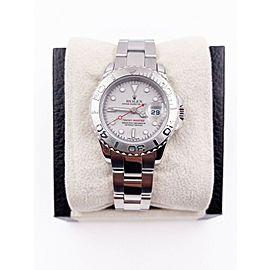 Rolex Ladies Yacht Master 169622 Platinum Stainless Steel