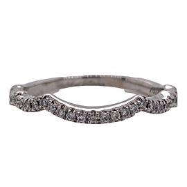 Neil Lane Bridal Wedding 1/6 tcw Diamond 14K White Gold Size 7.5