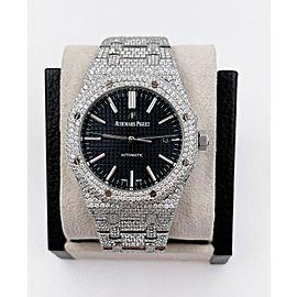 Audemars Piguet Royal Oak 15400ST.OO.1220ST.01 Stainless 41mm Box Paper Diamonds