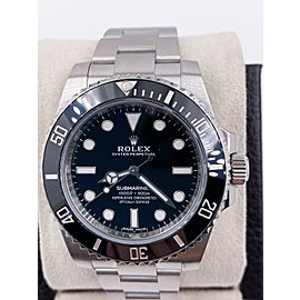 Rolex Submariner 114060 Black Dial Stainless Steel
