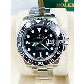 Rolex 116710 GMT Master II Black Ceramic Stainless Steel