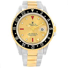 Rolex GMT II 16713 40mm Mens Watch