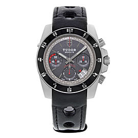 Tudor Grantour 20350N-BKSLPL 40mm Mens Watch