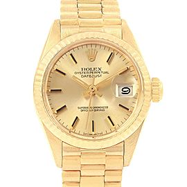 Rolex Oyster Perpetual President 6917 Vintage 24mm Womens Watch