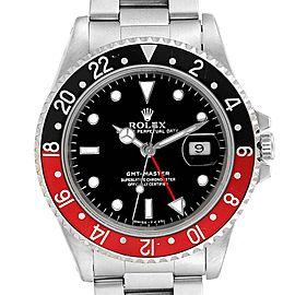 Rolex GMT Master Black Red Coke Bezel Mens Watch 16700