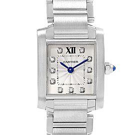 Cartier Tank Francaise WE110006 Womens 20mm Watch