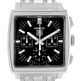 Tag Heuer Monaco CW2111.BA0780 38.5mm Mens Watch