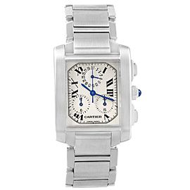 Cartier Tank Francaise W51001Q3 28mm Mens Watch