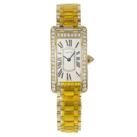Cartier Tank Americaine WB7072K2 19mm Womens Watch