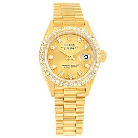 Rolex President Datejust 69138 26mm Womens Watch