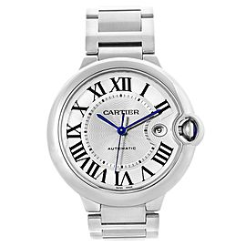 Cartier Ballon Bleu W69012Z4 42mm Mens Watch