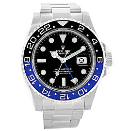 Rolex GMT Master II 116710 Batman 40mm Mens Watch