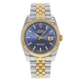 Rolex Datejust 116233BLSJ 36mm Mens Watch
