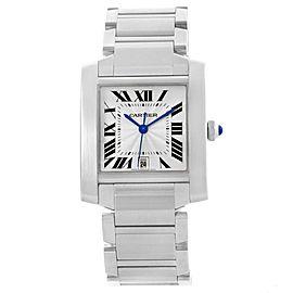 Cartier Francaise W51002Q3 28.0mm Mens Watch