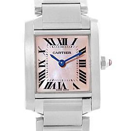 Cartier Tank Francaise W51028Q3 20mm Womens Watch