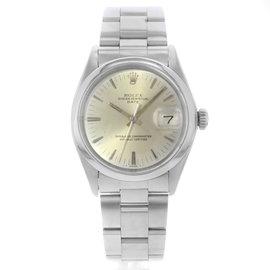 Rolex Date 15200 34mm Mens Vintage Watch
