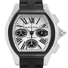 Cartier Chronograph Roadster W62007X6 Mens 50.2mm Watch