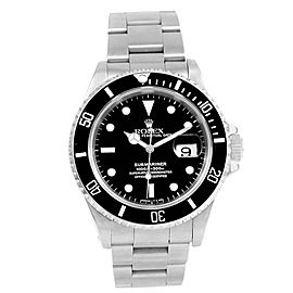 Rolex Submariner Date 16610 40mm Mens Watch