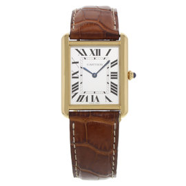 Cartier Tank Solo W1018855 27mm Unisex Watch