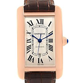 Cartier Tank Americaine W2609856 31mm Mens Watch