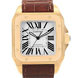 Cartier Santos 100 XL W20071Y1 38mm Mens Watch