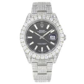 Rolex Datejust II 116300BKIO 41mm Mens Watch